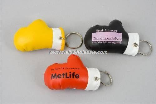 custom mini boxing gloves keychain