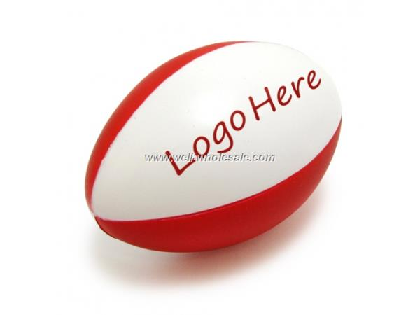 PU Foam American Football Shaped Stress Reliever, Stress Ball, Release Ball, Squeeze Ball