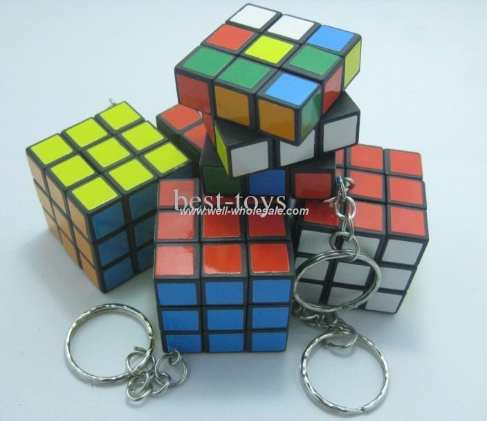 OEM Puzzle Cube Keychain