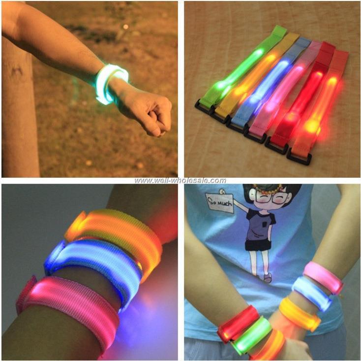 Awesome Party Glowing Bracelet LED Flash Bracelet Wrist Ring