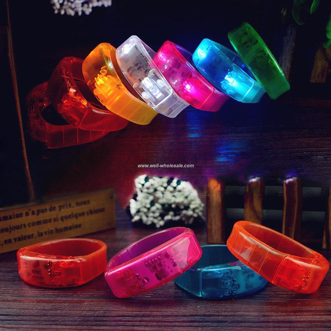 LED Flashing Bracelet Glowing Shining Wristband LED