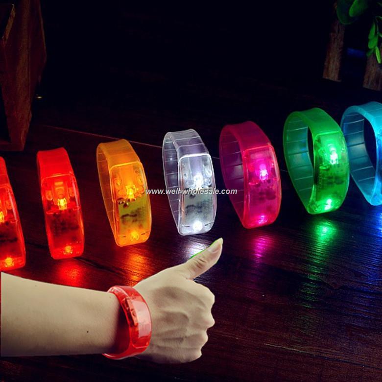 Flashing LED Waterproof Wristband Party