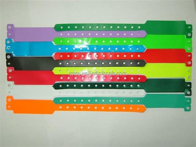 Eco-Friendly L Shape Plastic Wristband