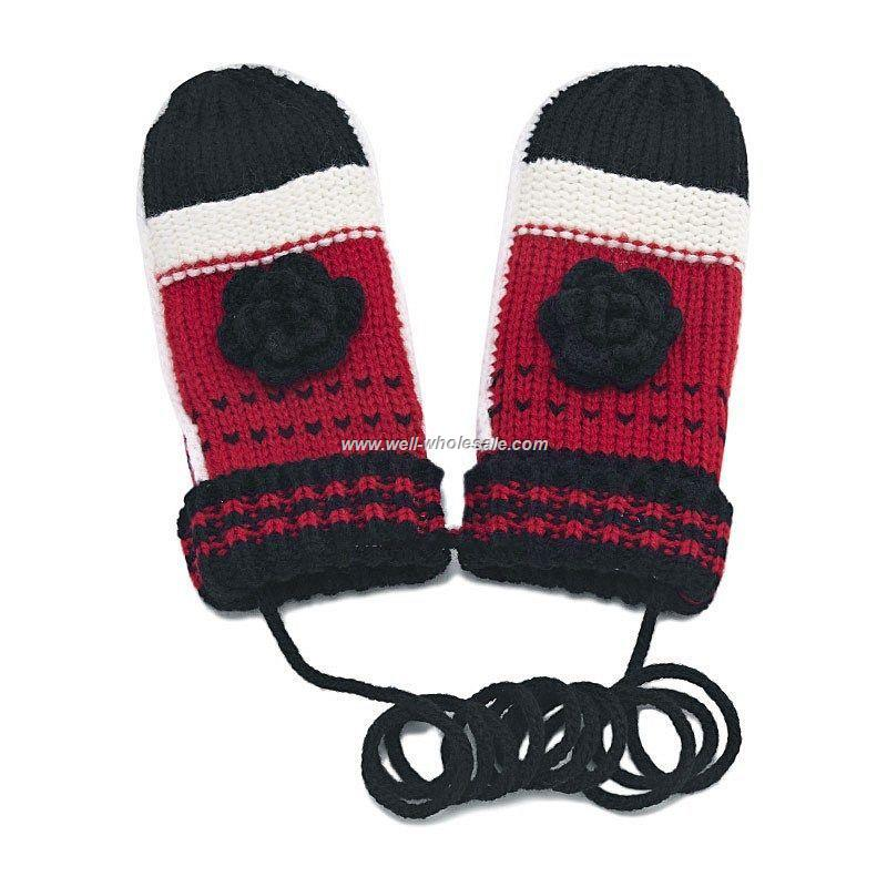 Red/White gloves