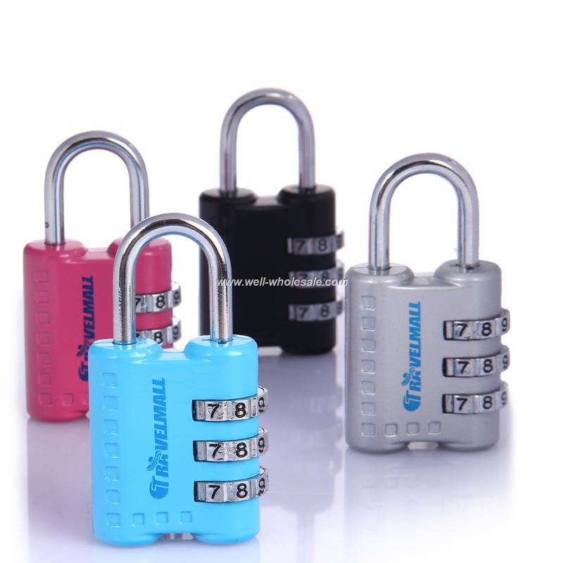 mini colored promotional code locks