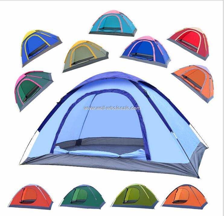 foldable 2 person outdoor camping tent hiking travelling fishing tent