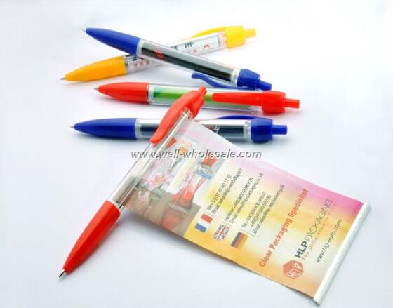 Logo Printed Pull Out Banner Pen