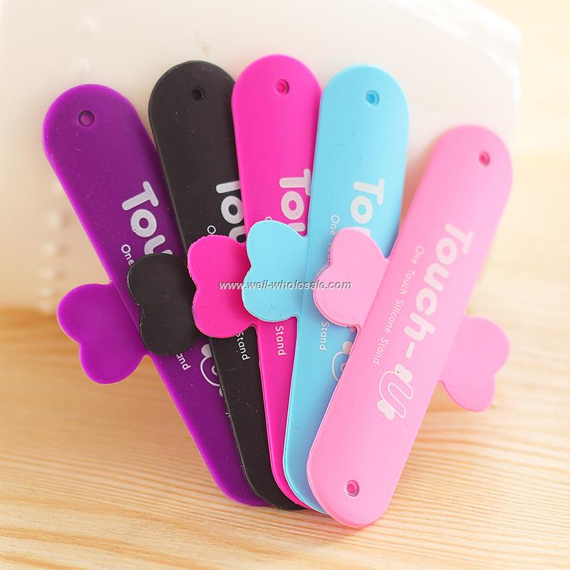 2015 promotional silicon mobile phone holder