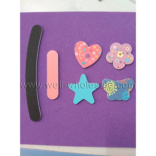 Promotional nail file