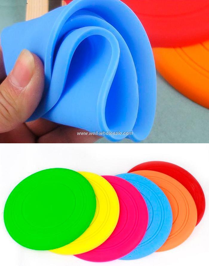 Wholesale,Silicone Foldable Frisbee
