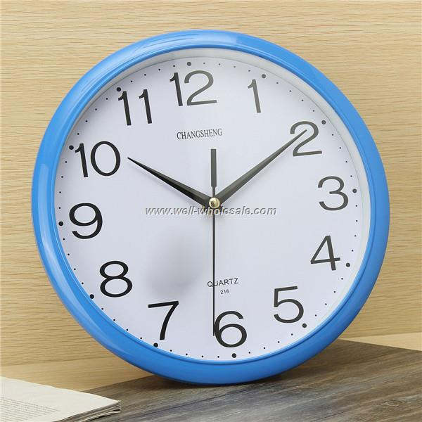 30cm plastic wall clock