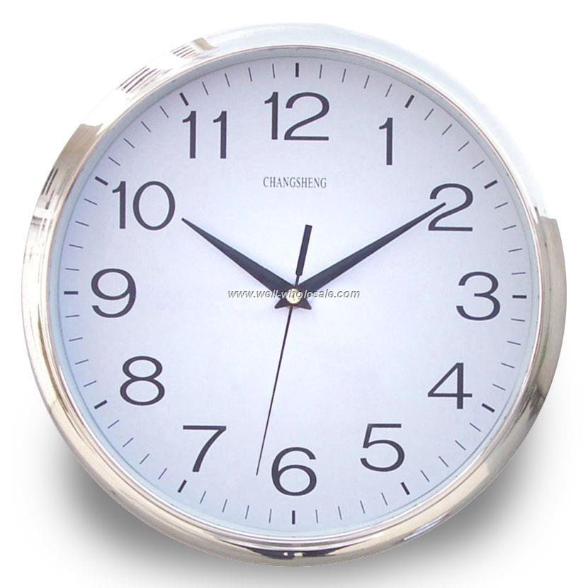 "12""Plastic Wall Clock"
