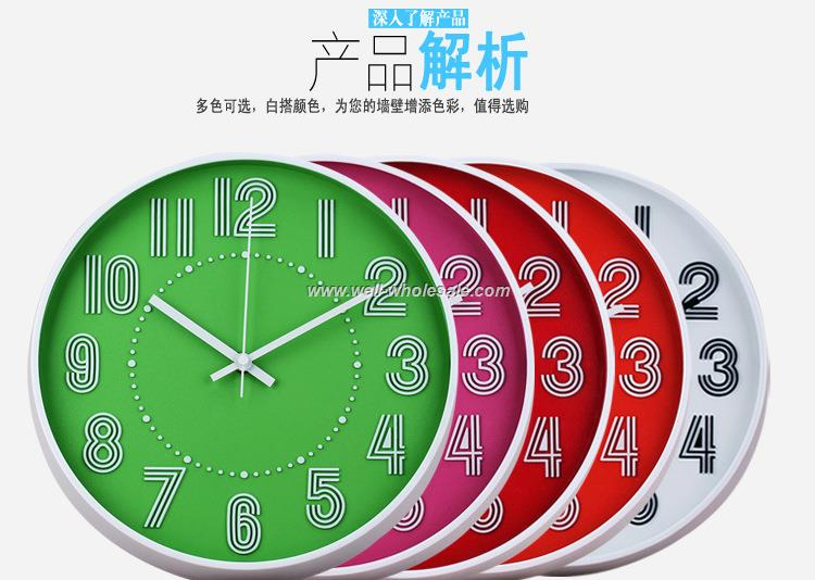 "10""Plastic Wall Clock"