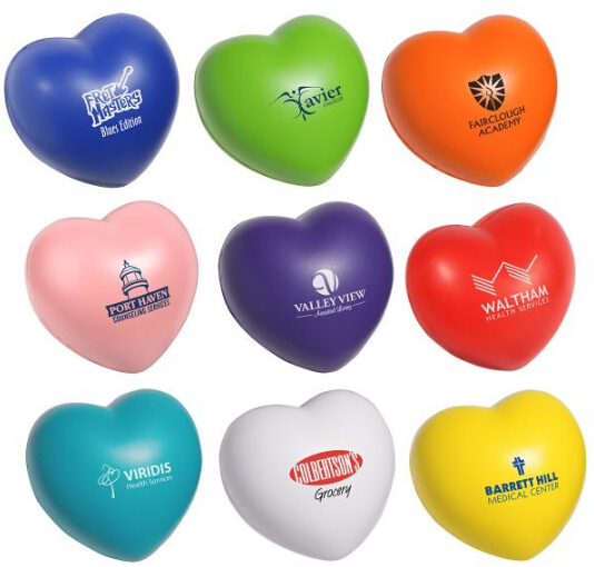 Heart Shaped Stress Relievers