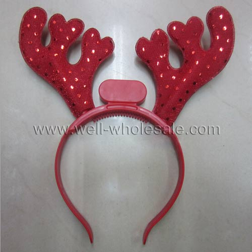 Antlers Headband/flashing