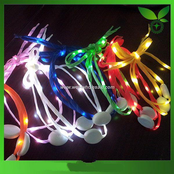 LED shoe parts accessories flashing shoe laces