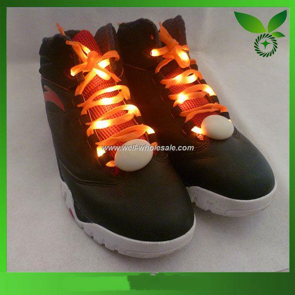 led flashing shoe laces
