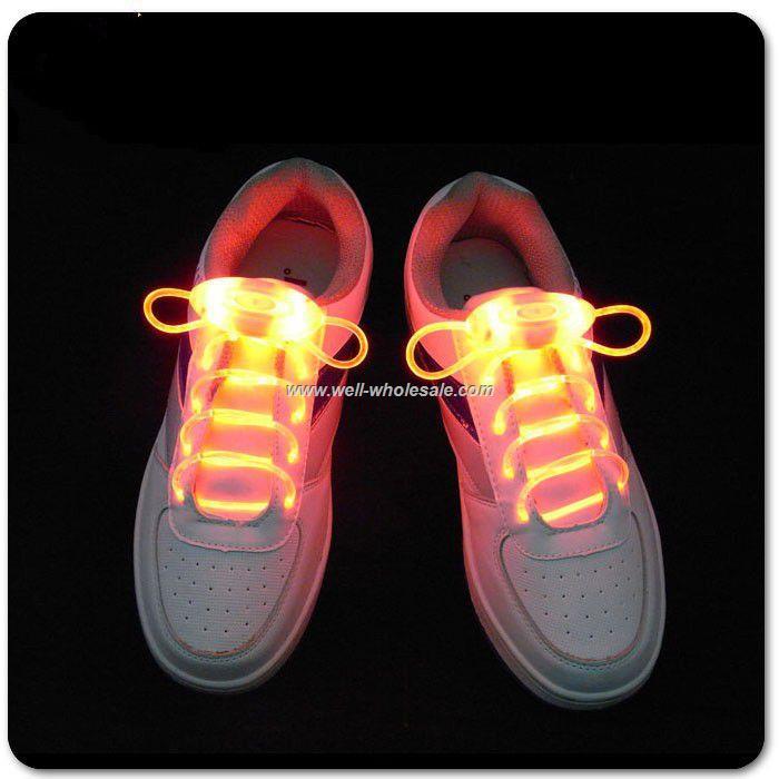 Promotional LED Shoelaces/led flashing shoe lace