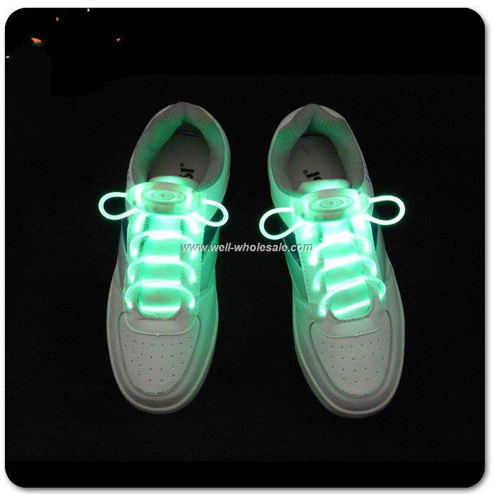 led flashing shoe laces for party