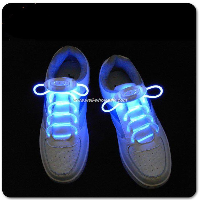 custom flashing led shoe laces