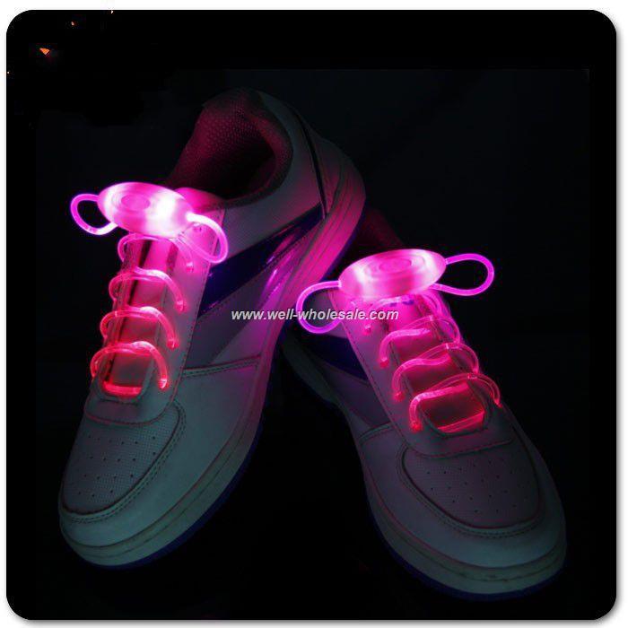 Cheapest LED shoe laces,Flashing shoe laces