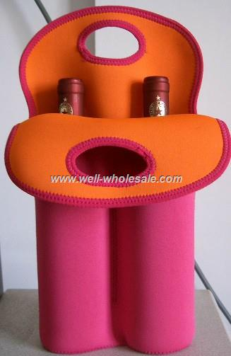 diving material wine bag,wine cooler bag,bottle sleeve