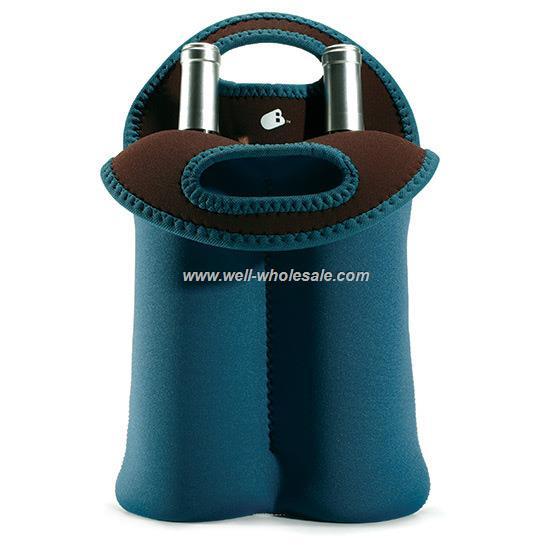 2 bottles wine bags/wine bottle cooler bag
