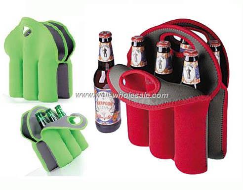 6 bottles wine cooler bag