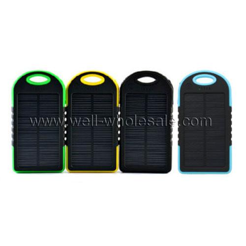 5000mAh Solar charger