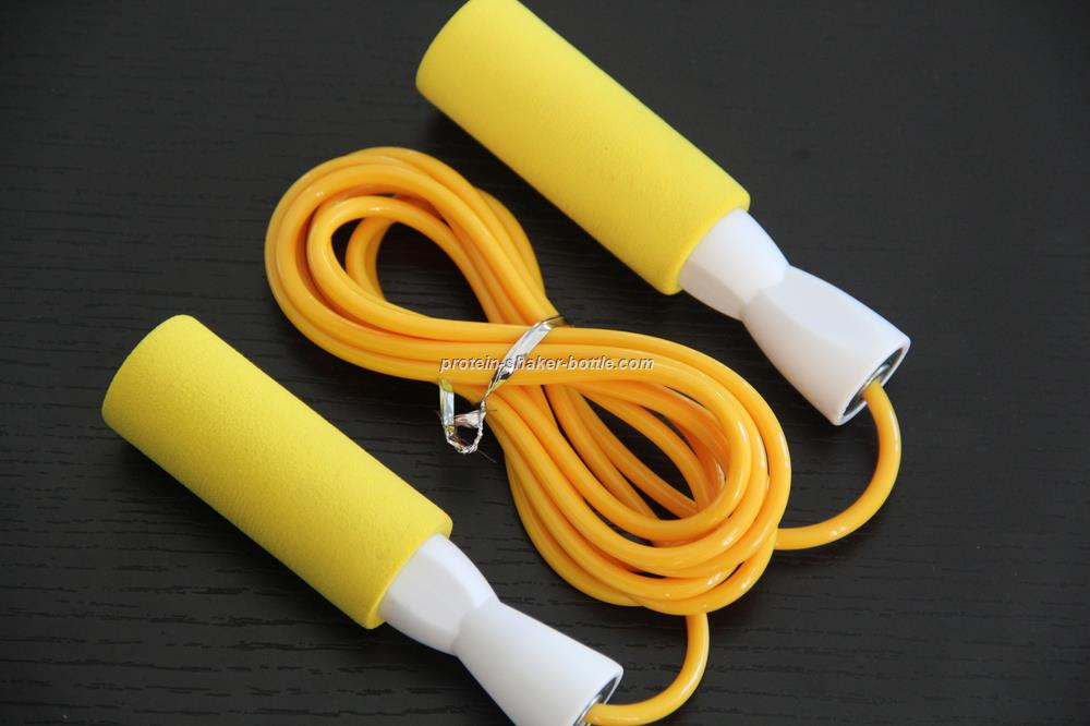 custom brand logo foam jump rope skipping rope