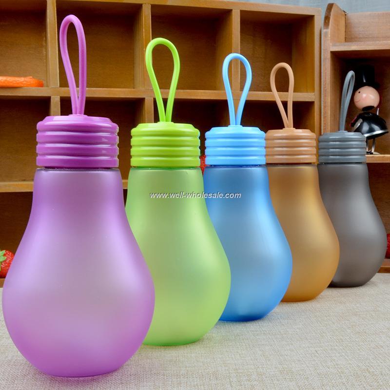 Light bulb shaped  bottle