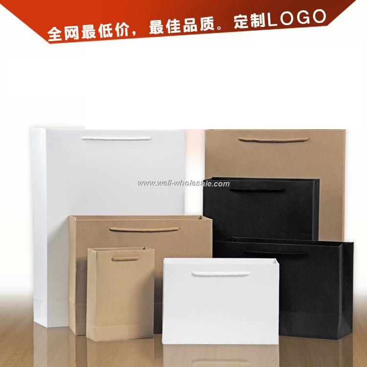 promotional advertising craft paper bag