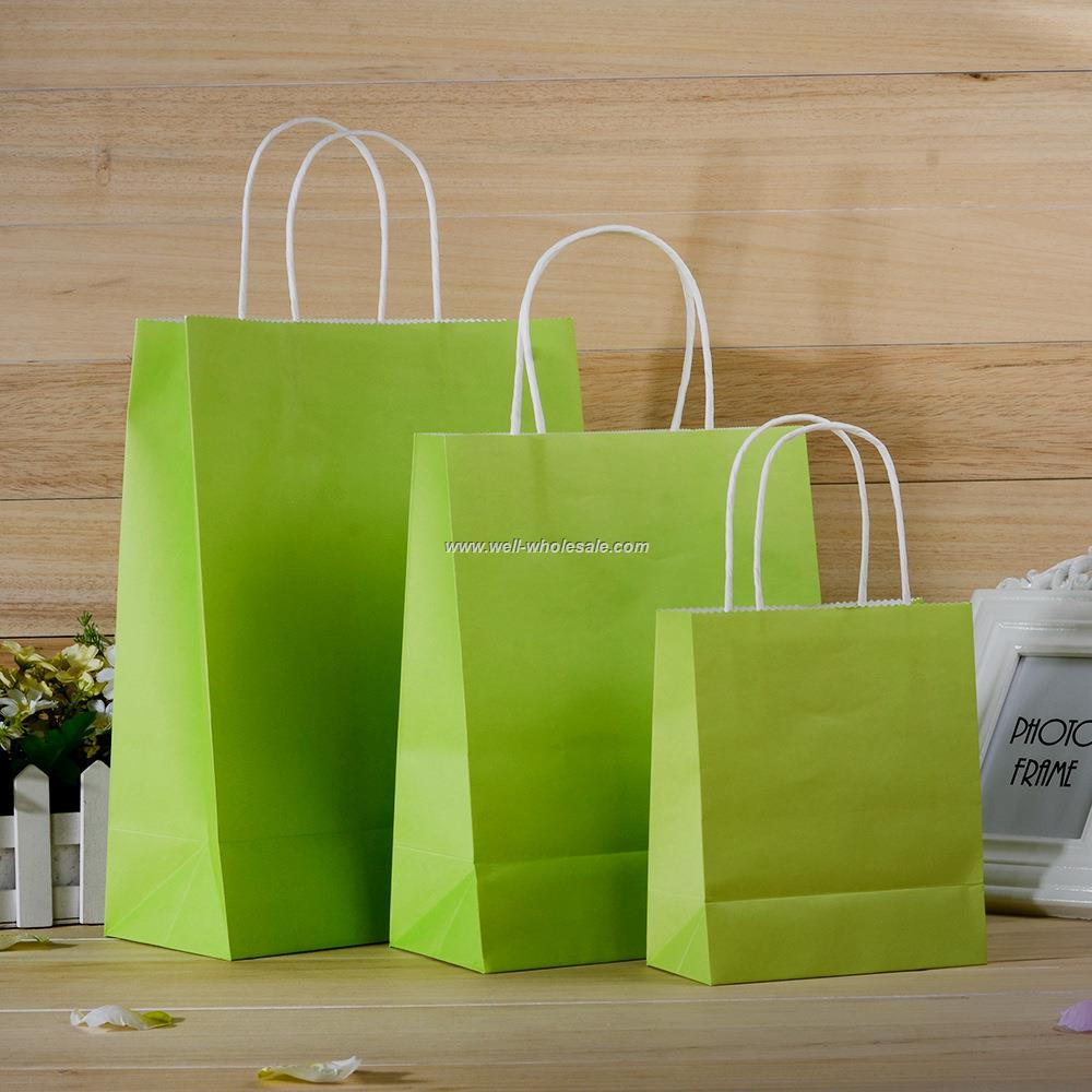 customized Brown paper bag /clothing bags