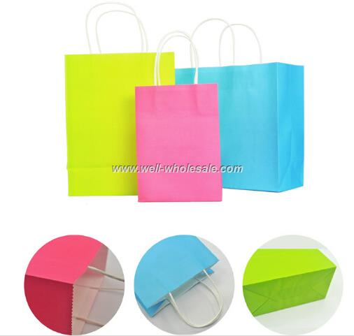 Advertising gift packing paper bag