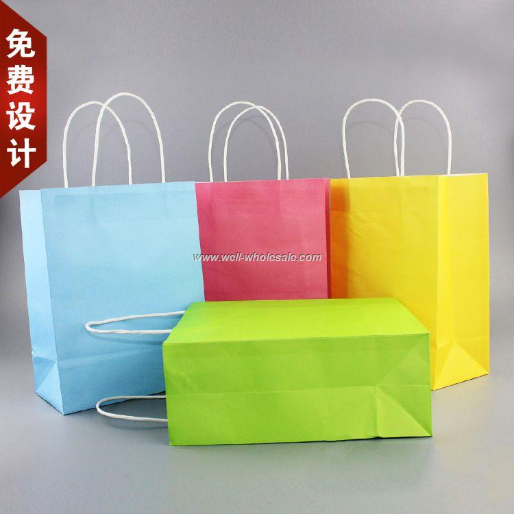 custom advertising paper bag