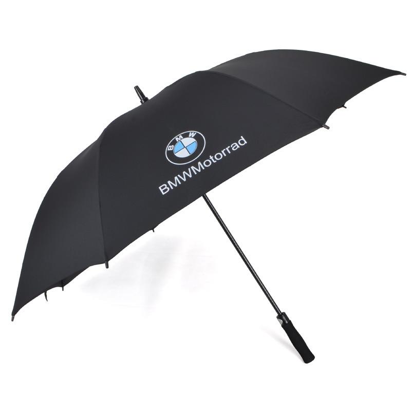 Advertising automatic 2 folding golf umbrella