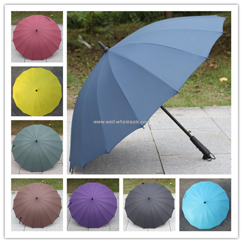 Custom Promotion Golf Umbrella/Advertising Straight Promotion Umbrella