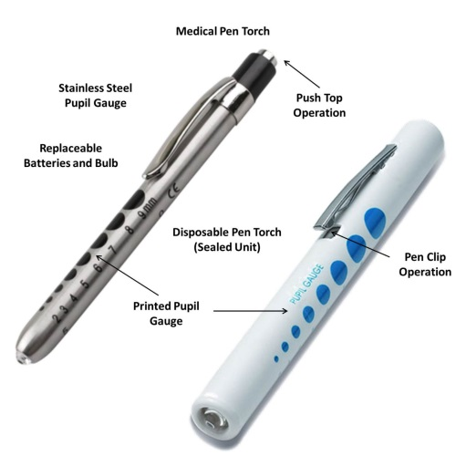 mini doctor led medical penlight, led light doctor medical pen torch