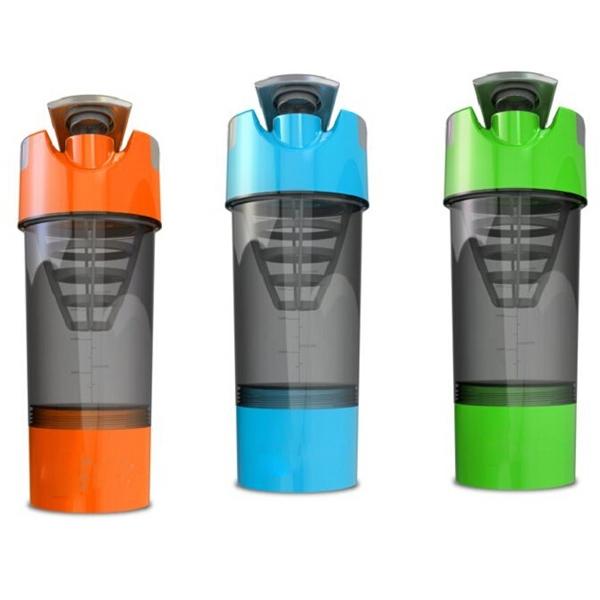 Bpa Free Joyshaker Bottles Custom 600ml Plastic Shaker Bottle