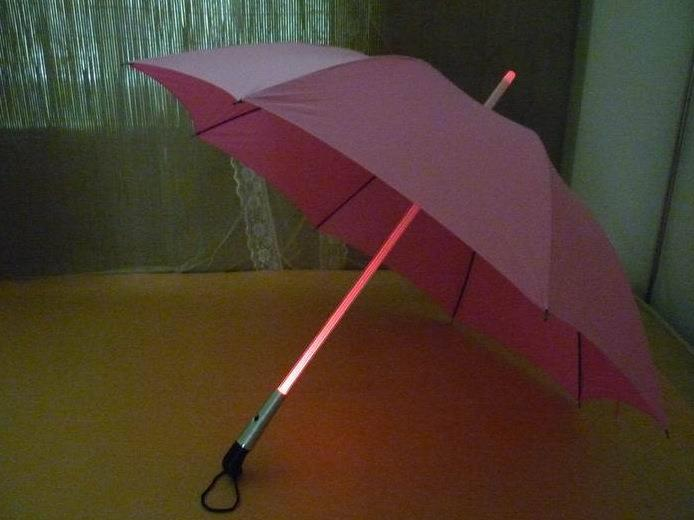 umbrella with torch