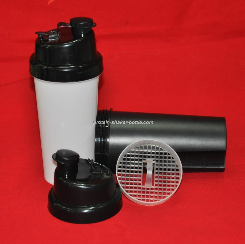 wholesale BPA free Protein Blende Shaker Bottle with ball inside