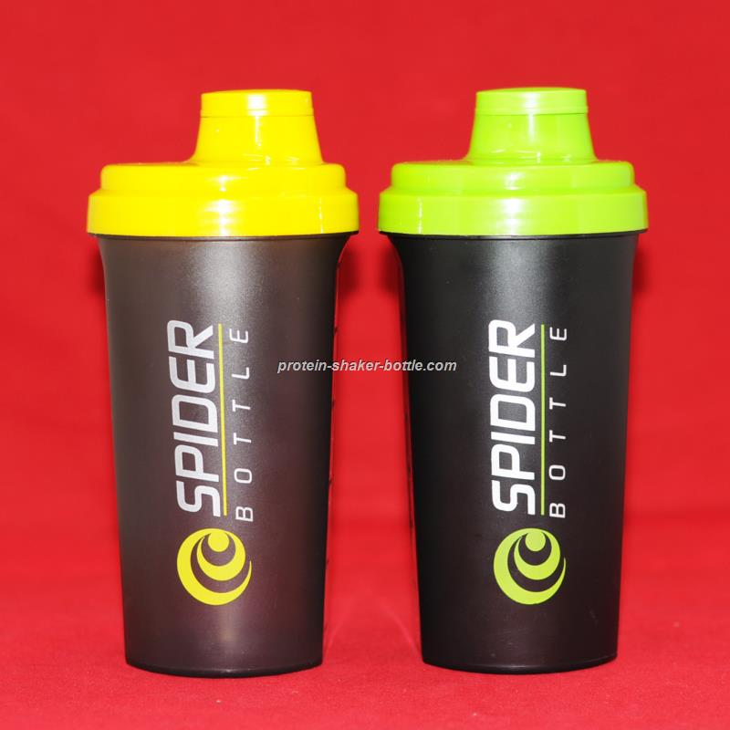 300ml 500ml 600ml shaker bottle