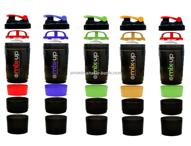 3 in 1 shaker bottle & plastic shaker bottle
