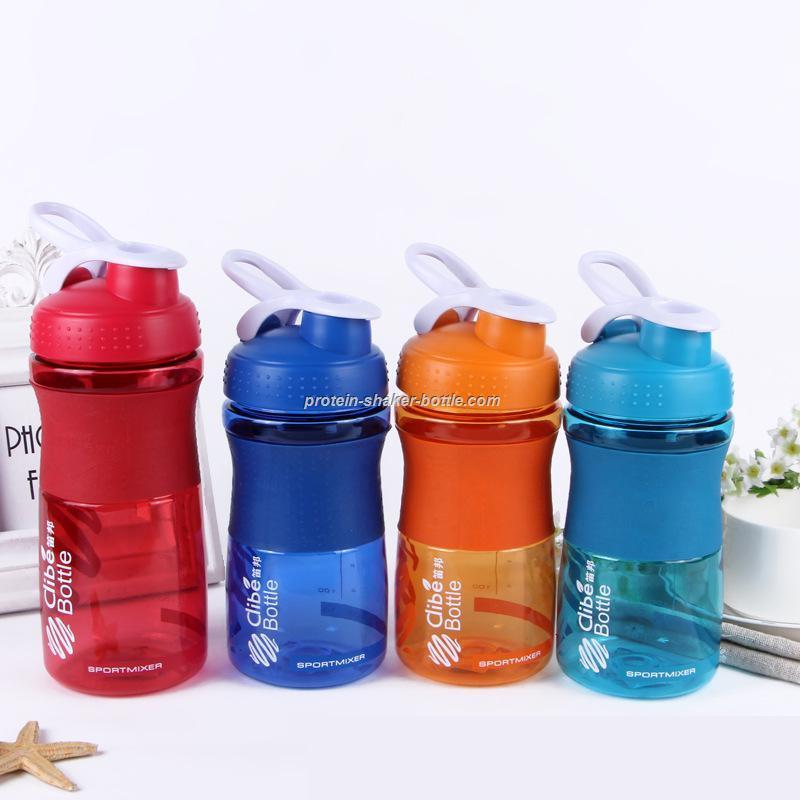 Silicone Plastic Sport Bottle