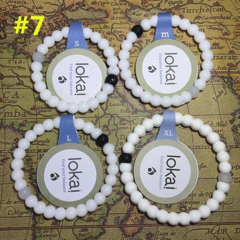 Lokais silicone teethter beads bracelet