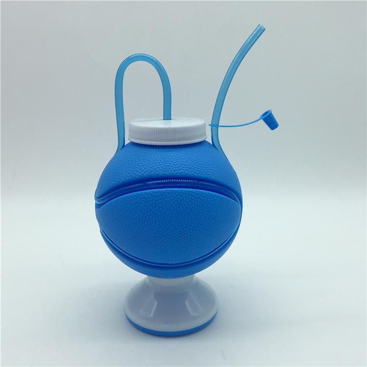 plastic kids cup goblet straw cup