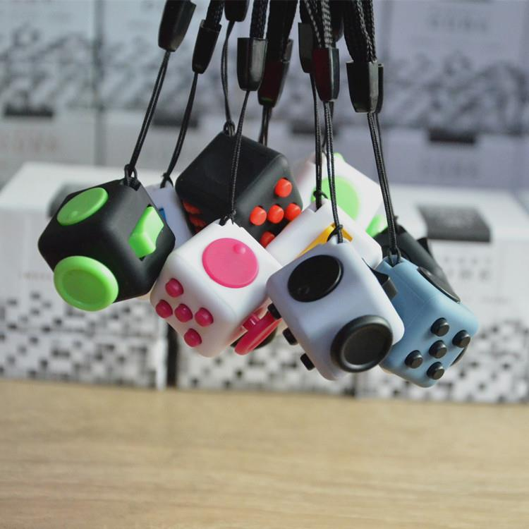 Factory Outlet Fidget Cube Toy 2017 Hot Sell Six Sides Camouflage Anti Stress Fidget Cube