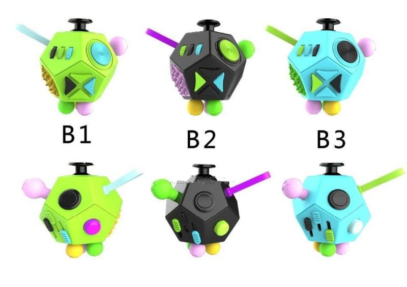 Fidget Dice 12 Sides Antianxiety and Depression Fidget Cube Toys