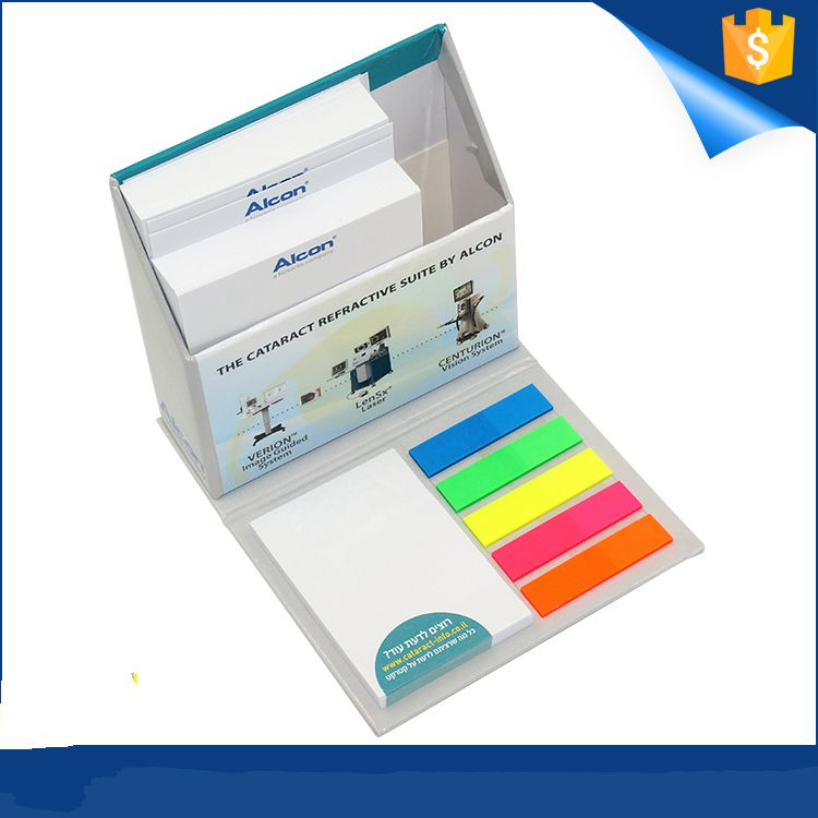 Factory direct supply  custom note pad logo eco sticky notepad