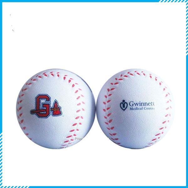 Promotional Baseball Stress Reliever Ball